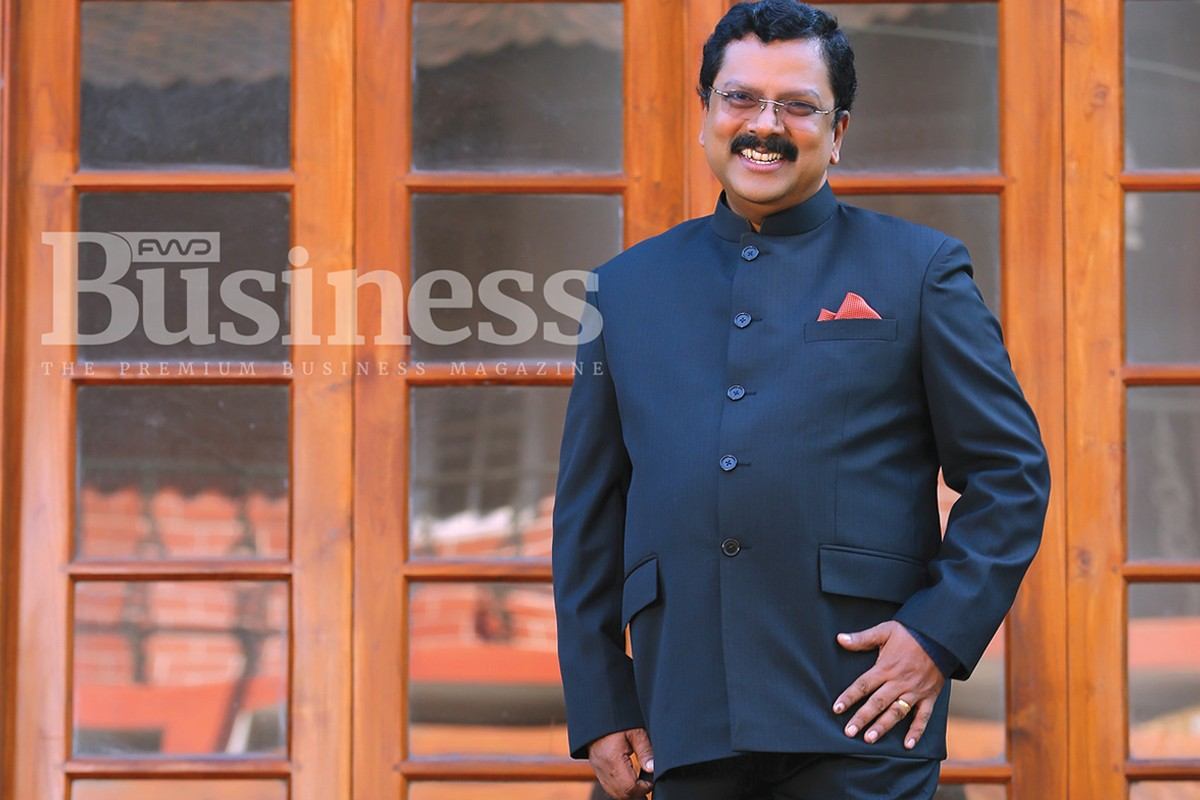 Fwd Business Cover Shoot Behind the Scene –Jiji Thomson IAS, Hon. Chief Secretary, Govt. of Kerala