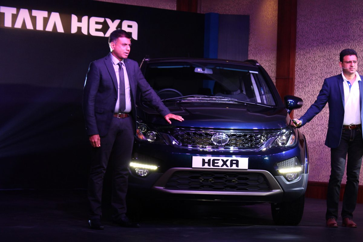 Tata Motors new Lifestyle vehicle – 'HEXA' launched in Kerala